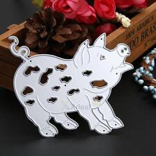 Pig Metal Cutting Dies Stencil DIY Scrapbooking Card Paper Diary Embossing Craft