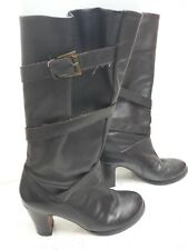 924fbecba6a Women s JONES Boots Size 4 Brown KNEE HIGH LEATHER