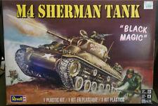 """Revell M4 Sherman Tank """"Black Magic"""" Plastic Model Kit"""
