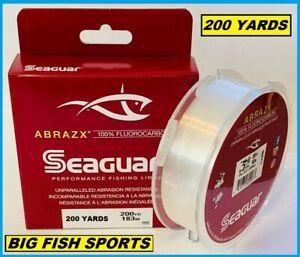 SEAGUAR ABRAZX 100% Fluorocarbon Fishing Line 12LB-200YD FREE USA SHIP! #12AX200