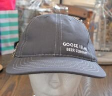 Goose Island Beer Company snapback cap gray excellent condition made in U.S.A.