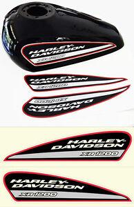 Kit Adesivi HARLEY DAVIDSON XR1200 Xr 1200 Serbatoio Stickers NON LAMINATI