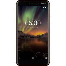 Nokia 6 (2018) 32GB, Handy, schwarz