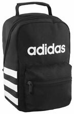 NEW NWT ADIDAS YOUTH SANTIAGO BLACK INSULTED SCHOOL TOTE LUNCH BOX LUNCHBOX BAG