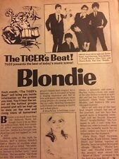 Blondie, Full Page Vintage Clipping