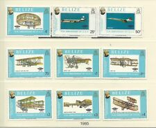 Belize 1979 Rowland Hill SG504-12 + MS513 (2 sheets), mnh, Cat.£43+.