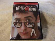 Better Off Dead (Dvd, 2002) John Cusack *Gem Mint*