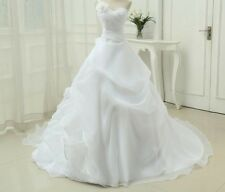 Lace Organza Wedding Dresses A-line One Shoulder Applique Sequined Crystal Gowns