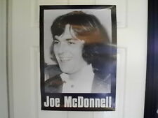 IRISH REPUBLICAN ORIGINAL LARGE JOE MC DONNELL HUNGER STRIKER POSTER LONG KESH