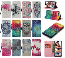 For Xiaomi Poco X3 NFC 11 9T Pro 3D Pattern PU Leather Wallet Case Phone Cover