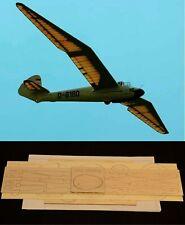 "105"" wing span Hirth Minimoa R/c Glider/Sailplane short kit/semi kit and plans"