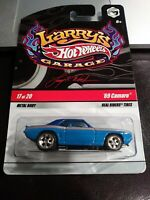 Hot Wheels Larry's Garage '69 Camaro (Signed LW) 17 Of 20 Real Riders 2008 BLUE