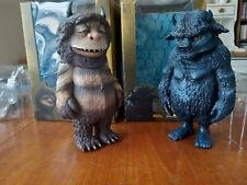Where The Wild Things Are Carol And Bull Collectable Vinyl Figures. Medicom.