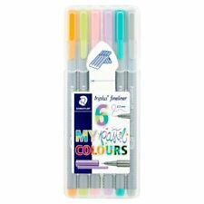 Staedtler Triplus Pastel Fineliners 6 Pack