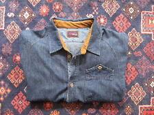STAPLE PIGEON BRAND long sleeve men's Denim Shirt size XL excellent condition