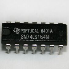 SN74LS164N IC, 8-bit parallel-out serial shift register, DIP 14, TI