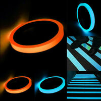 GI- KF_ BL_ KE_ PVC Glow In Dark Sticky Tape Self Adhesive Luminous Saftey Film