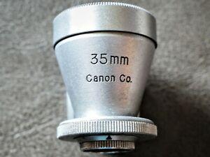 Vintage Canon 35mm Viewfinder Finder for Leica & Other Rangefinder Cameras