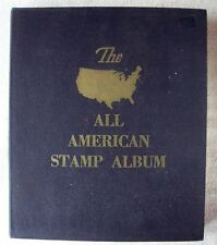 The ALL AMERICAN STAMP ALBUM by Mincus for Gimbels 1953 134 Pages 640 stamps