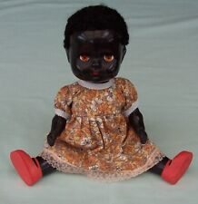 Pedigree Black Doll Vintage Hard Plastic Made In South Africa and Australia