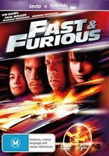 Fast and Furious The 4th Movie R4 DVD