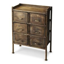 Butler Cameron Industrial Chic Drawer Chest, Metalworks - 3368025