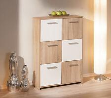 Commode buffet bahut meuble de rangement bureau cuisine salon séjour CHÊNE BLANC