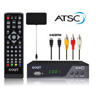 Digital Atsc Digital Converter Box TV Tuner USB Media Player UHF VHF TV Antenna