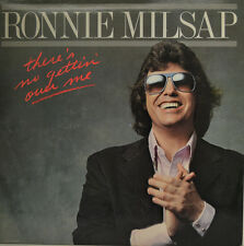 "RONNIE MILSAP - THERE´S NO GETTIN OVER ME - LP 12"" (S130)"