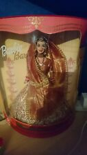 Rare Indian bride wedding fantasy barbie doll in original box collectors