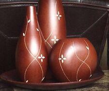 Home Elements 4-Piece Vase Set