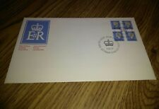 Canada Fdc 1977 Qe 12c Definitive Block Of 4 Free Us Shipping