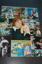 johnny hallyday   poster  4 pages ou claude francois