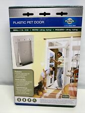 PetSafe plastic pet door flap opening small dog cat animal 1-15 Lb new in box