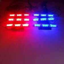9X 6 Bars LED Car Flashing Emergency Grille Lamp Recovery Auto Strobe Light