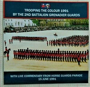 CD 1991 LIVE TROOPING THE COLOUR  - 2ND BATTALION GRENADIER GUARDS
