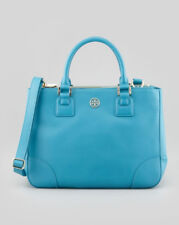 Tory Burch Robinson Double-Zip Tote Bag Purse Electric Eel NWT