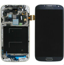 GL DISPLAY LCD+TOUCH SCREEN per SAMSUNG GALAXY S4 GT i9505 VETRO BLACK MIST NERO