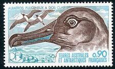 TIMBRE T.A.A.F. / TERRES AUSTRALES NEUF  N° 72 ** FAUNE ALBATROS
