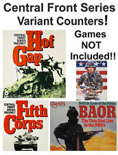 Central Front 1300+ Variant Counters & Materials!!, Games NOT Included., SPI