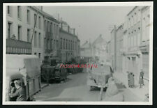 PHOTO WW2 1940 CHARS B1Bis TANKS PANZER BEAUMONT MEUSE? MAUBEUGE? BEARN 37e BCC