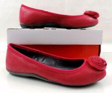 98e4a96ca DKNY Steffi Dress Ballet Flat Shoes Comfort Dark Punch Foil Lizard Pink  Size 6.5