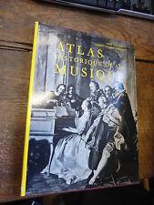 atlas historique de la musique par paul Collaer et albert Vander Linden
