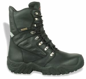 Cofra Frejus Hi Leg Black Leather Safety Thinsulate Gore Tex Lace Mens Boots