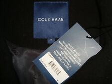 NWT COLE HAAN High Collar Wool Blend Full Length Coat Fabric Made in Italy Sz 8