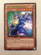 YuGiOh TCG Hyper Synchron DL17-EN006 (GREEN) Duelist League Card Rare New DL
