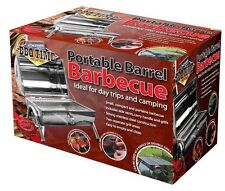 Portable Barrel Stainless Steel BBQ - OUTBBQ2
