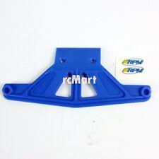 RPM Wide Front Bumper Blue Traxxas Rustler Stampede Bandit 1:10 RC Car #81165