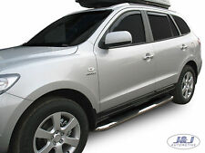 SB308 Hyundai Santa Fe 2006-2012 Luxury Chrome Side Steps Bars Running Boards