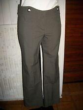 Pantalon kaki pied de poule stretch COP COPINE CHEYENNE 36  16ET3